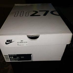 Men's Nike Air Max 270 Size 12